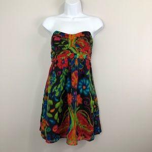 Shoshanna Mini Strapless Miami Dress Size 8
